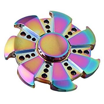 Image de Hand spinner rainbow