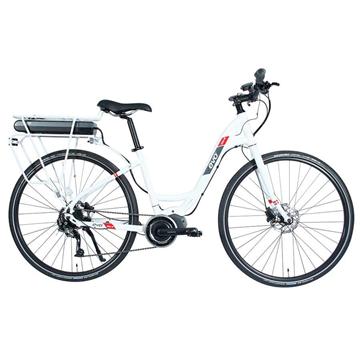 Vélo Électrique Evo Shimano STEP MD-2 SC-E6000 Blanc
