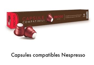 Image de Capsule Caffitaly  Deciso compatible Nespresso