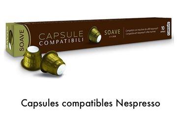 Image de Capsule Caffitaly Soave compatible Nespresso