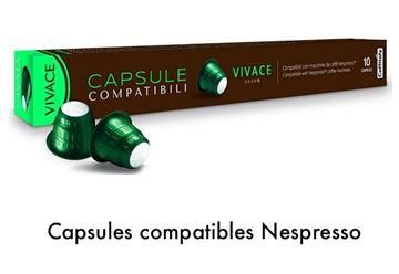 Image de Capsule Caffitaly Vivace compatible Nespresso