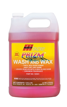 Image de Prizm wash and wax Malco (Savon automobile et camion)