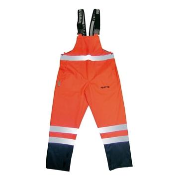 Image de Pantalon, bavette haute visibilité respirant Lime / NAT'S N842P