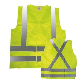 Image de Veste de circulation avec bandes -Z96 Jaune ou Orange / NAT'S N40V