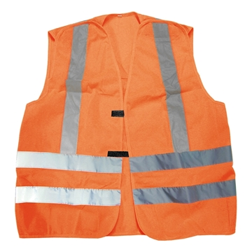 Image de Veste Circulation Détachable (Z96-09) Jaune ou Orange / NAT'S N50V
