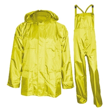 Ensemble Imperméable 220 Deniers Jaune Ou Vert / NAT'S N825JP