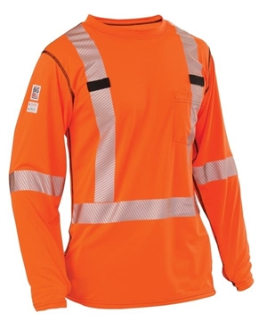 Image de Gilet haute visibilité orange  BIG BILL
