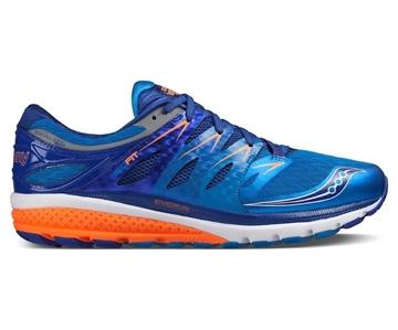 SAUCONY - Chaussures de course sur route - ZEALOT ISO 2 - bleu-blanc-orange - homme
