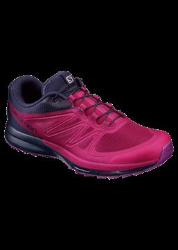 SALOMON - Chaussure de course en sentier - SENSE PRO 2 W - femme - rose-bleu