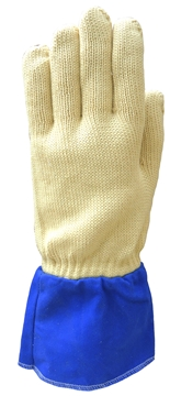 Image de Gant Tricot Anti-coupure niv. 4, Protection 350 degrés C, Doublure laine