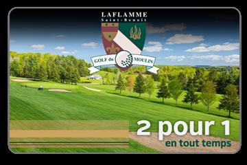 2 Pour 1 Sur Un Parcours De 9 Trous Au Golf Du Moulin Laflamme