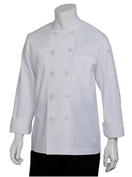Veste De Cuisinier Blanche M/L ''Le Mans''