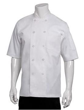 Veste De Cuisinier M/C Blanche