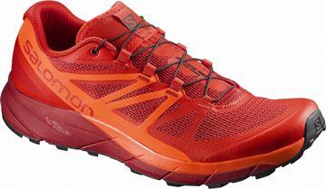 SALOMON - Chaussure de course en sentier - SENSE RIDE - femme - corail
