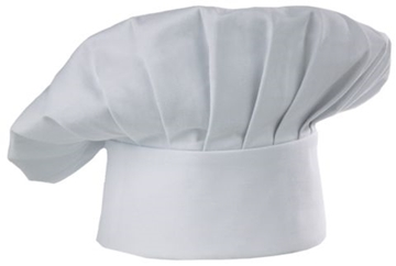 Chapeau De Chef Flexible Blanc / CHEF WORKS CHAT