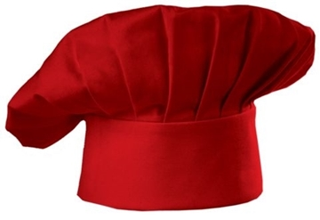 Chapeau De Chef Flexible Rouge / CHEF WORKS RHAT