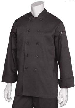 Image de Veste de chef BASTILLE noire / CHEF WORKS BAST