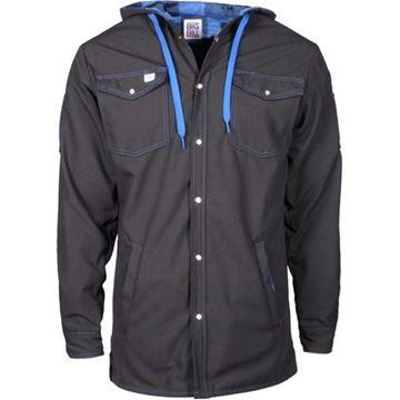Image de chemise doublée ripstop Big Bill 257RS noir