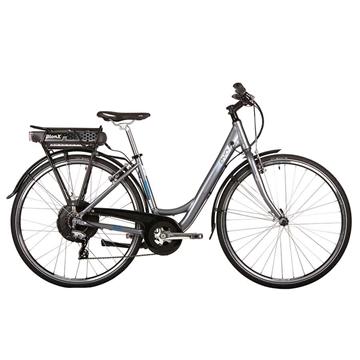 Vélo Électrique EVO BREEZEWAY 3.0 BION-X 48 Volt 6.6 Amp. Gris/Bleu