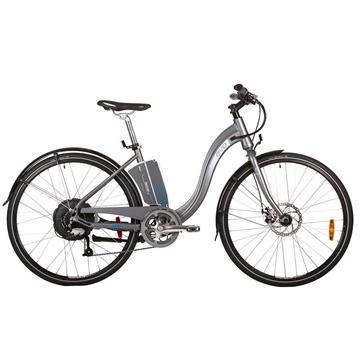 Vélo Électrique EVO BREEZEWAY 7.0 BION-X 48 Volt 6.6 Amp. Gris/Bleu