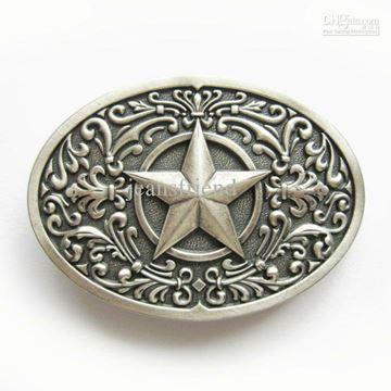 Boucle de ceinture Western étoile pour femme