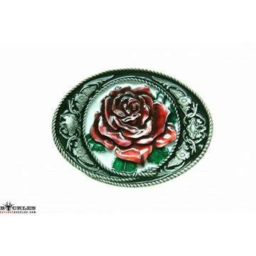 Boucle de ceinture Western rose pour femme
