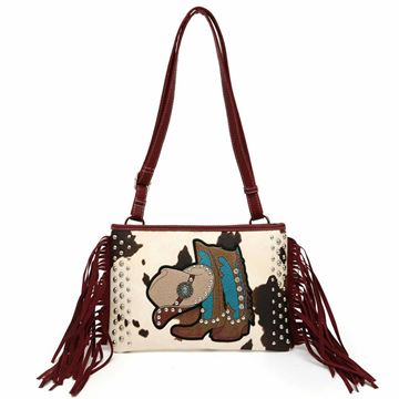 Sac à main Western Messenger Collection Cowgirl Trendy pour femme