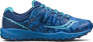 SAUCONY - Chaussure de course de route - PEREGRINE 7 ICE + - Femme - Bleu