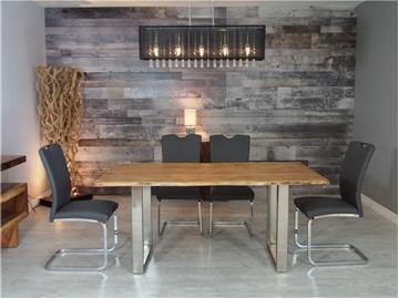 Image de Table à dîner en acacia