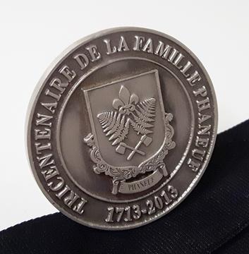 Image de Médailles - Étain sur Mesure - Tricentenaire de la famille