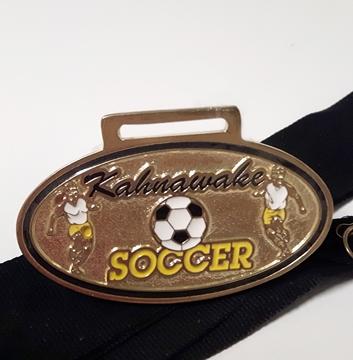Image de Médailles - Étain sur Mesure - Soccer Kahnawake