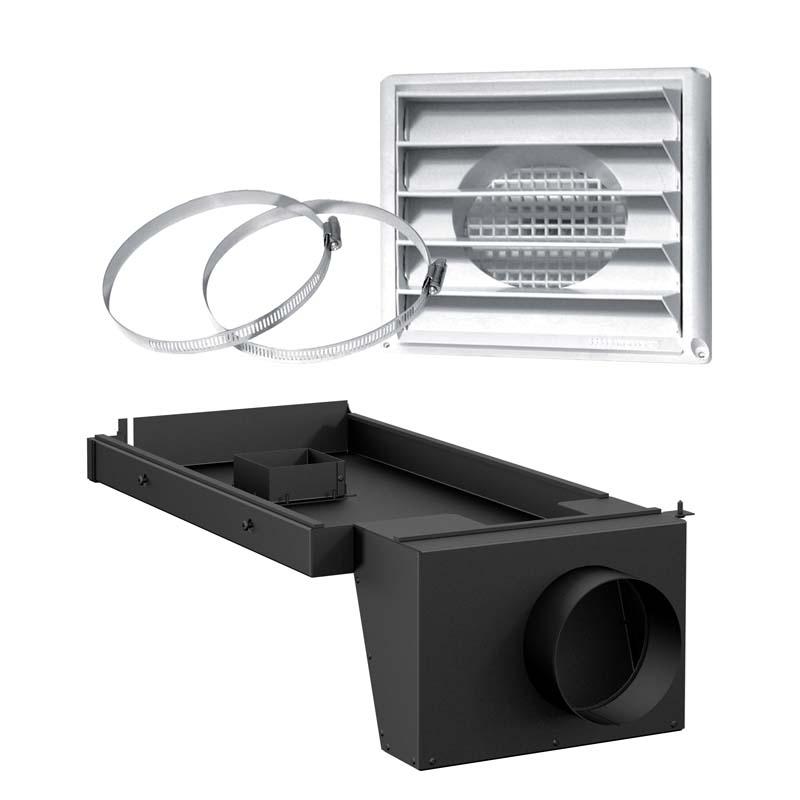accessoires adapteurs ensemble d 39 entr e d 39 air frais 5 pour po le bois sur pattes centre d. Black Bedroom Furniture Sets. Home Design Ideas