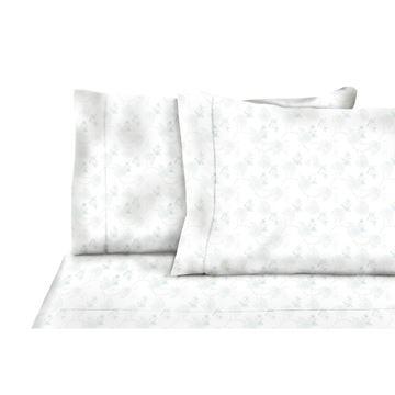 Image de Drap en flanelle à motif floral