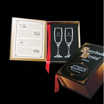Image de Cadeaux Corporatifs - Verrerie - Coffret Champagne Flute