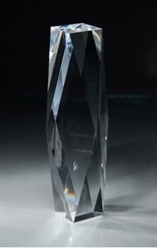 Image de Trophée  - Cristal - Bloc CRY88