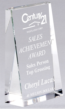 Image de Trophée  - Cristal - Wedge CRY603