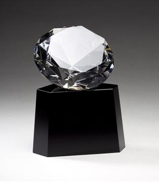 Image de Trophée  - Cristal - Diamant CRY334