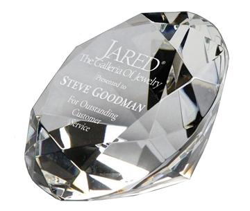 Image de Trophée  - Cristal - Diamant CRY108