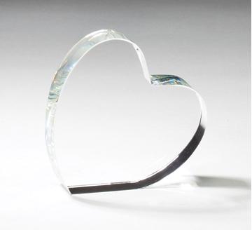 Image de Trophée - Cristal - Coeur CRY229