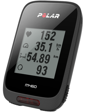 POLAR - GPS compteur de vélo - M460 - Noir