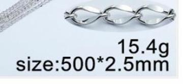 chaîne en acier inoxydable