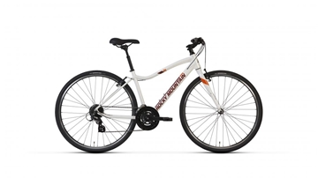 Rocky Mountain - Vélo hybride - RMB RC_10 LO COMFORT BIKE - BLANC - XSMALL