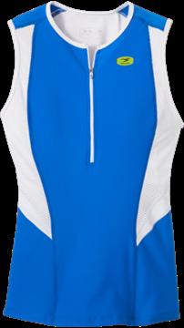 SUGOI - Camisole de triathlon - RPM TRI TANK - Femme - Bleu/Blanc - Small