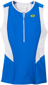 SUGOI - Camisole de triathlon - RPM TRI TANK - Femme - Bleu/Blanc - Médium