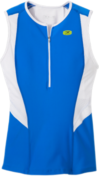 SUGOI - Camisole de triathlon - RPM TRI TANK - Femme - Bleu/Blanc - Large
