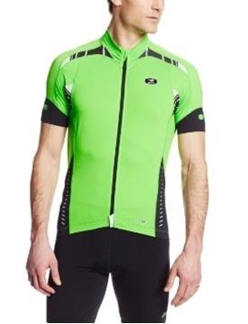 SUGOI - Maillot de vélo - RS JERSEY - Homme - Vert/Noir - Small