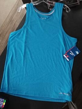 BROOKS - Camisole de course - EZ TANK - Homme - Bleu - Large