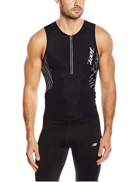 ZOOT - Camisole de triathlon - M Ultra Tri Tank - Homme - Noir - Medium