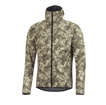 GORE - Manteau Coupe Vent - ELEMENT URBAN PRINT WINDSTOPPER HOODY - Homme - Vert - Large