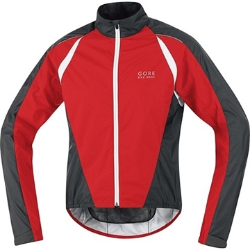 GORE - Manteau Coupe Vent - CONTEST 2.0 AS JACKET - Homme - Rouge/Noir - Large